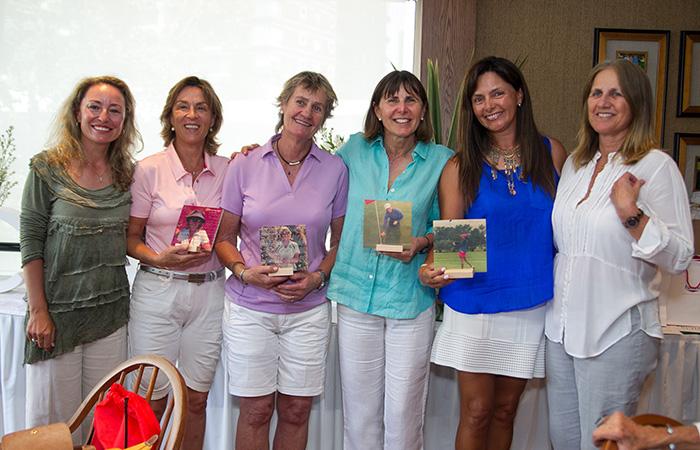 Esther Pascal, Ana María Urrutia, Catalina Vicuña, Margarita Schmidt, Paulina Naso y Cecilia Undurraga