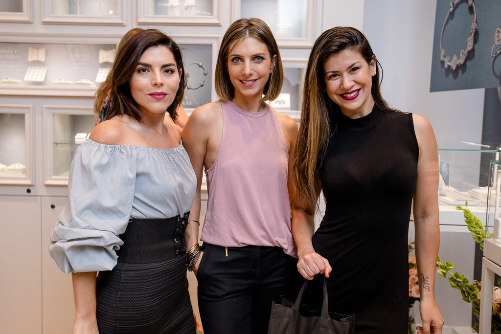 Isis Miralles, Jessica Abudinen y Vivi Rodrigues