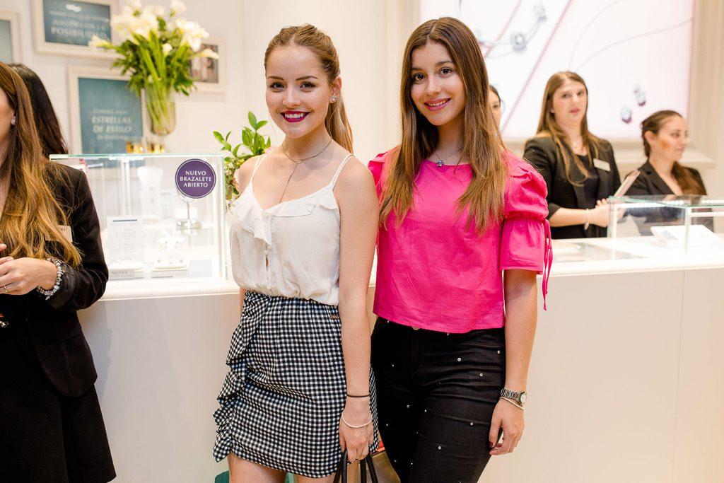 Natalia Birkner y Valentina Flores