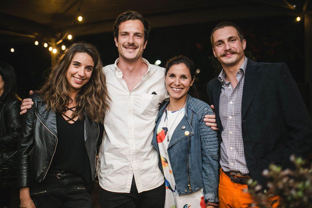 Rosario Ibáñez, León Reynes, Claudia Calvo y Romain de la Porte