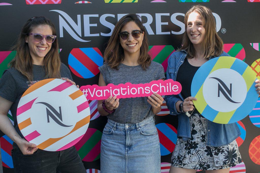 Florencia Gioia, Patricia Morales y Andrea Hartung