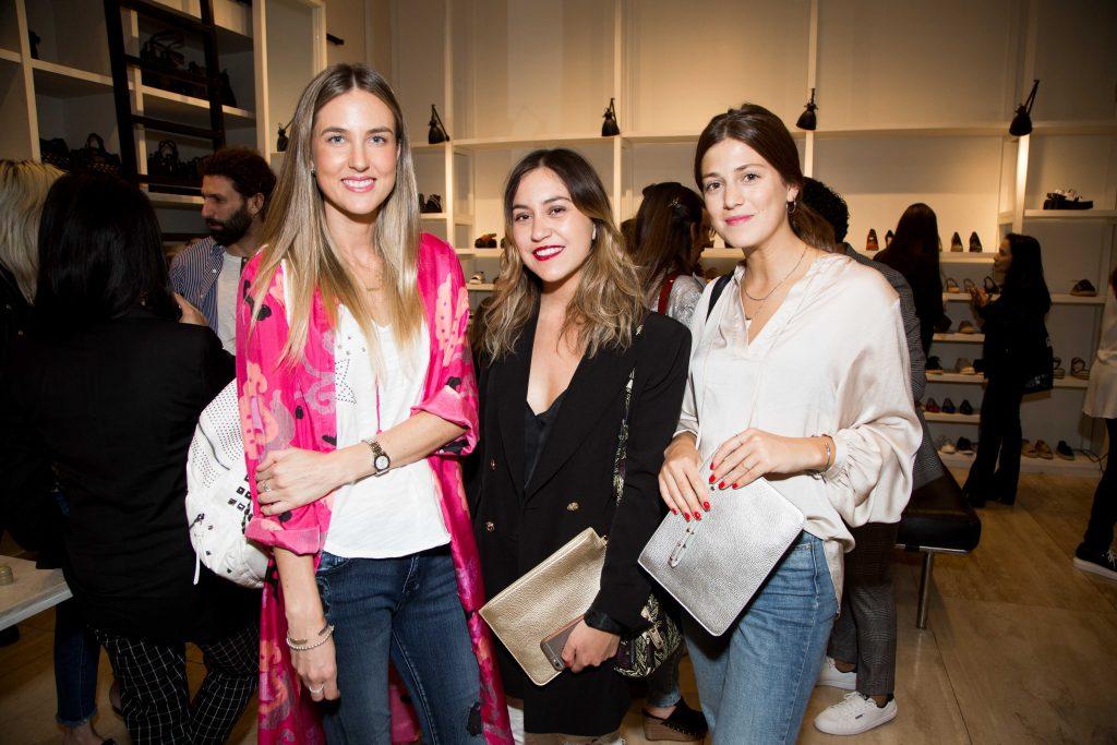 Valeska Barends, Josefina Cedano y Sara Braun