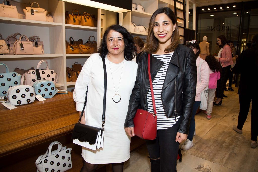 Verónica Marinao y Patricia Morales