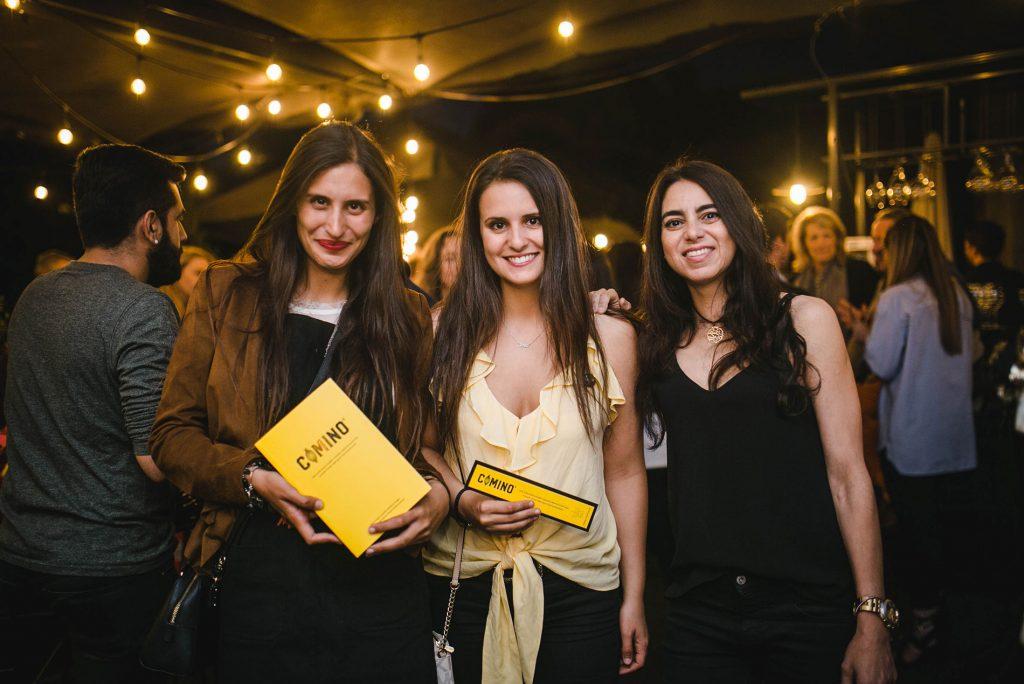 Macarena Hales, María Ignacia Hales y Claudia Hales
