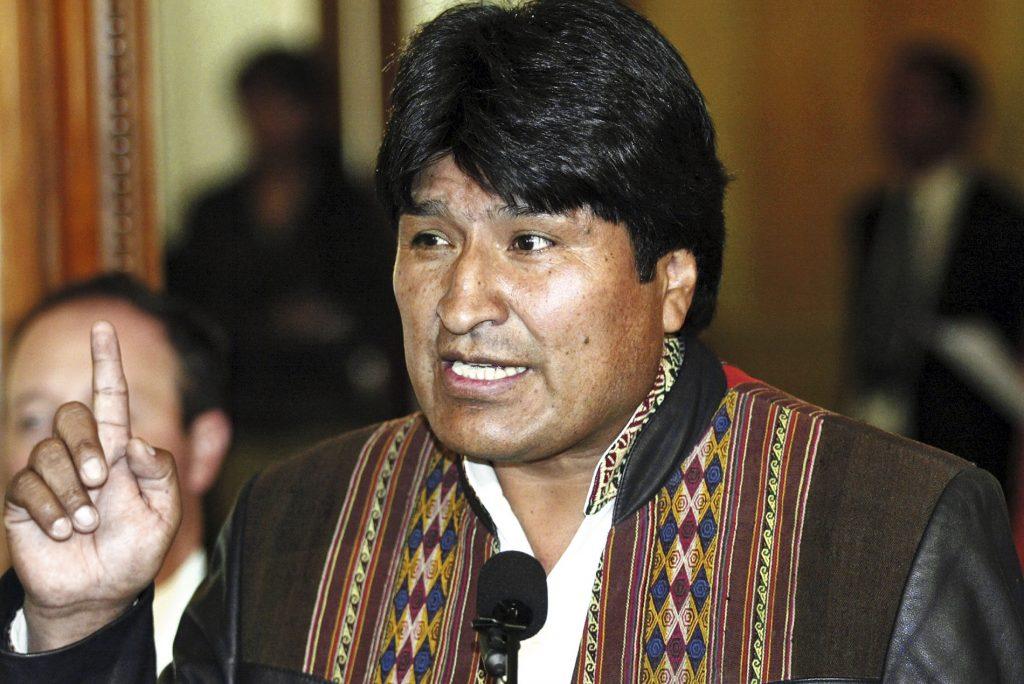 Los looks del presidente Evo Morales son coherentes con su discurso anticapitalista.