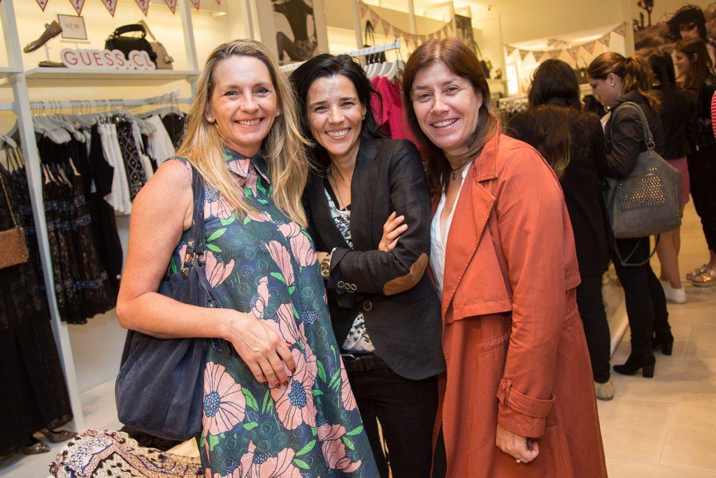 Karin Schacht, Carla Fogliatti y Ximena Borrowman