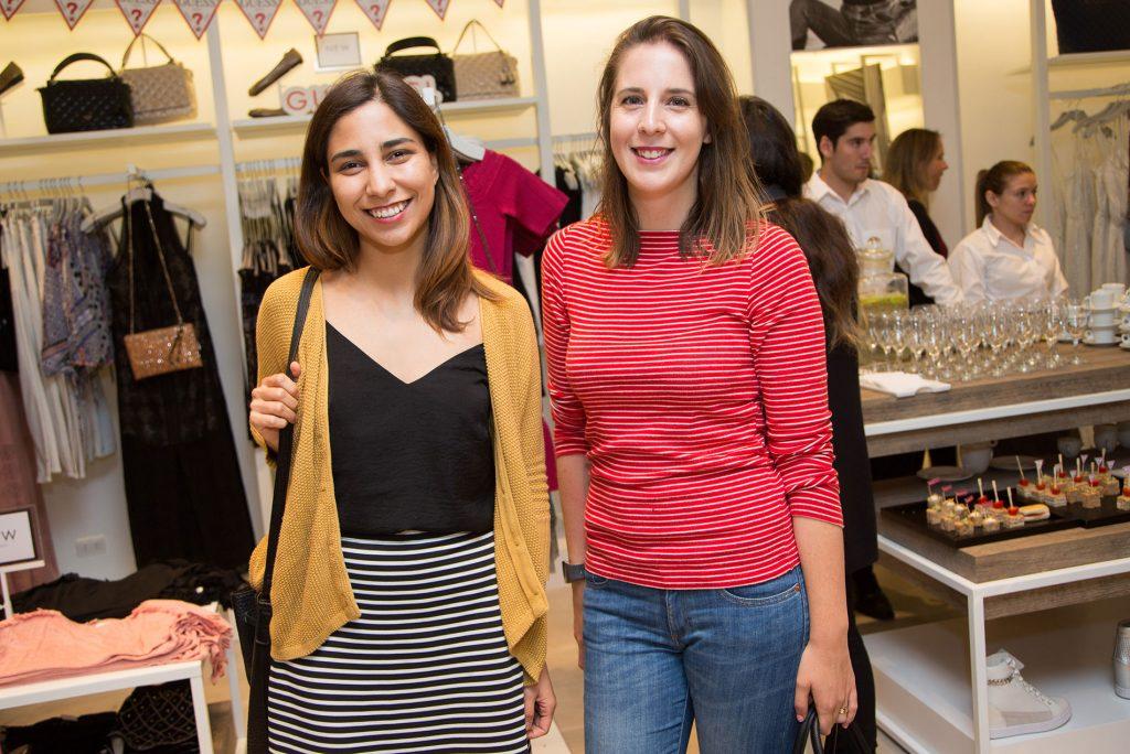 Patricia Morales y Andrea Hartung