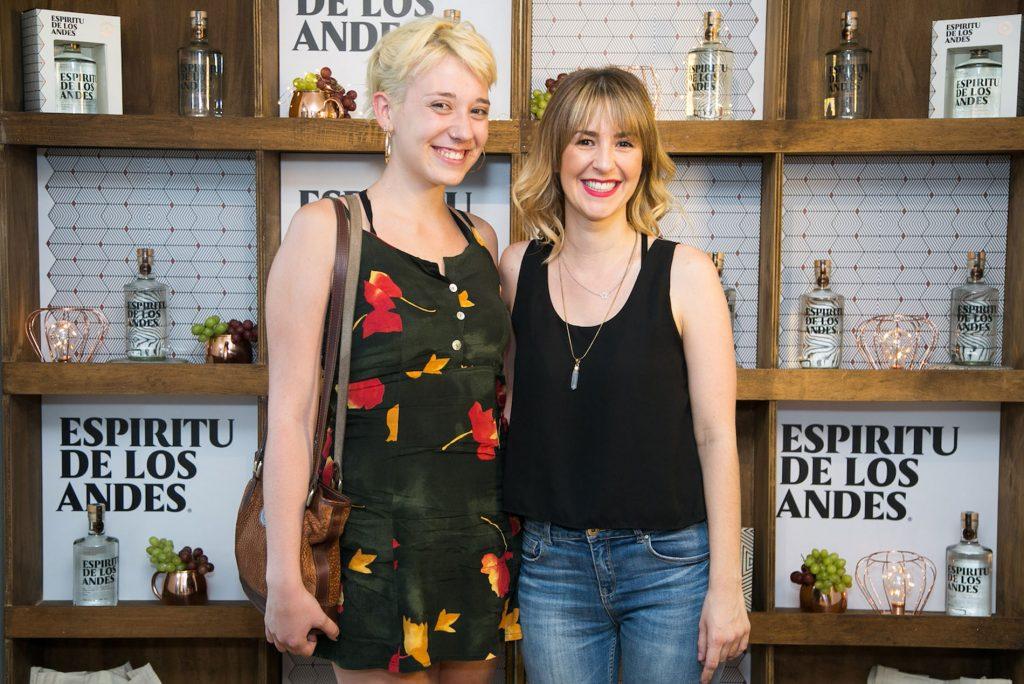 Amanda Fiebelkorn y Paola Arecheta