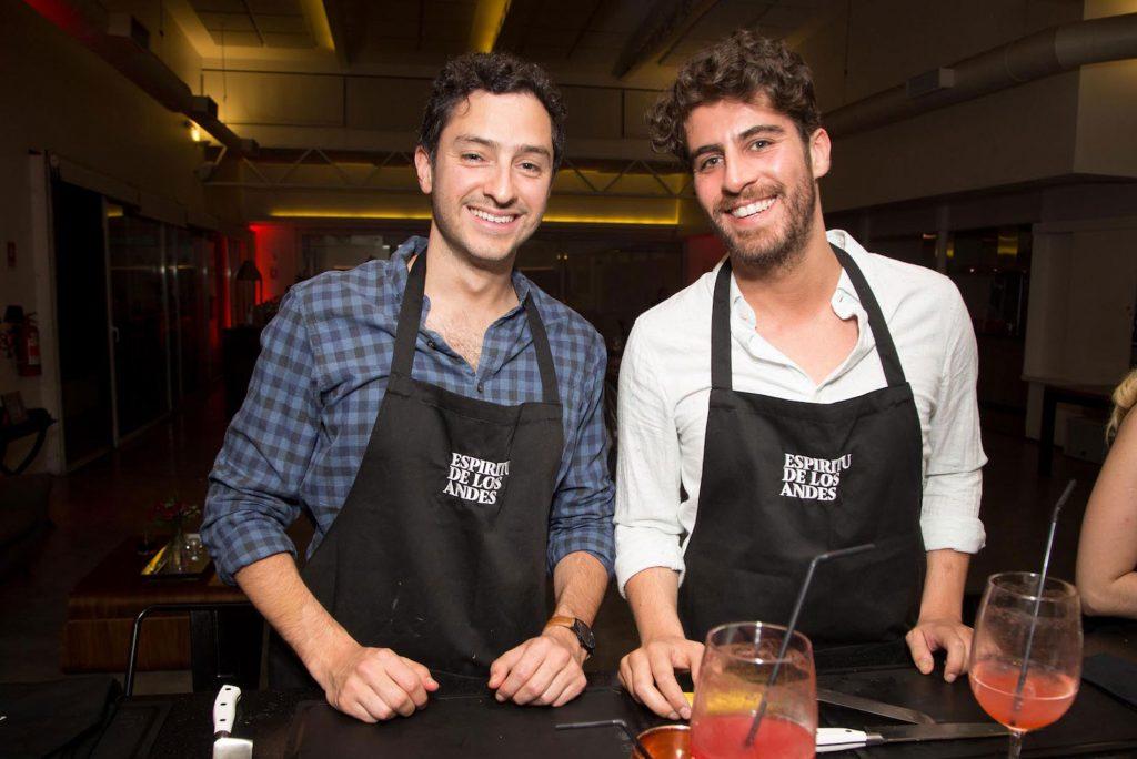 Carlos Santórsola y Felipe Jofre