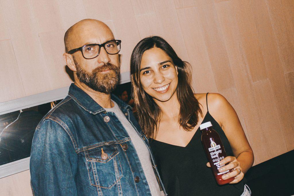 Claudio Canales y Patricia Morales