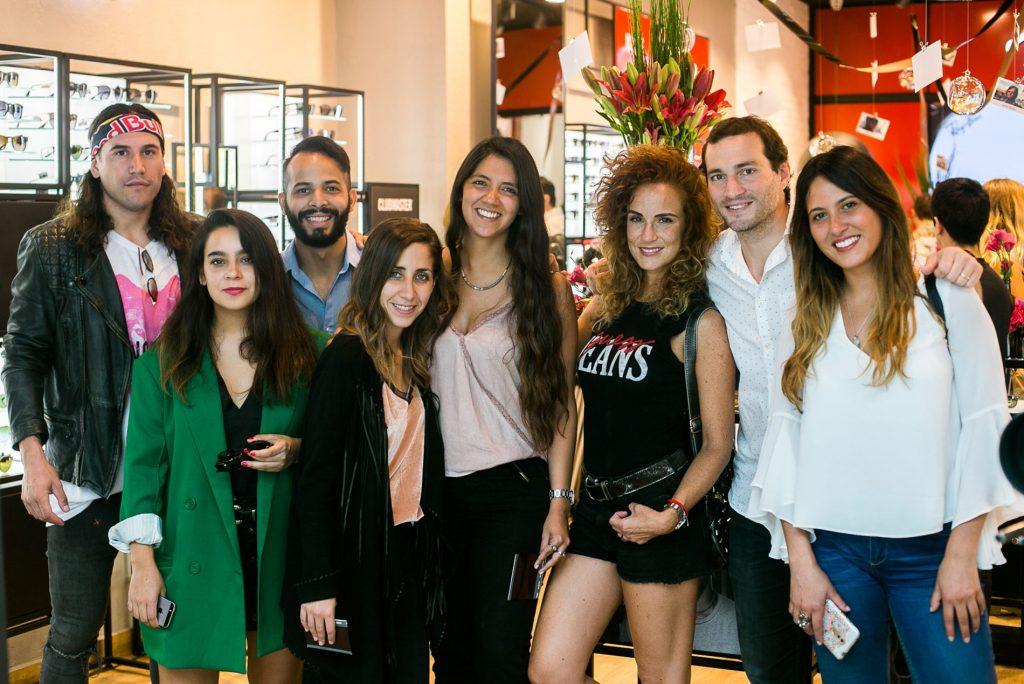 Coco Zurita, Catalina  Bu, Soham Lugo, Maria Ramajo, Constanza Lama, Bárbara Meza, Tomás Westenenk y Daniela Bustos