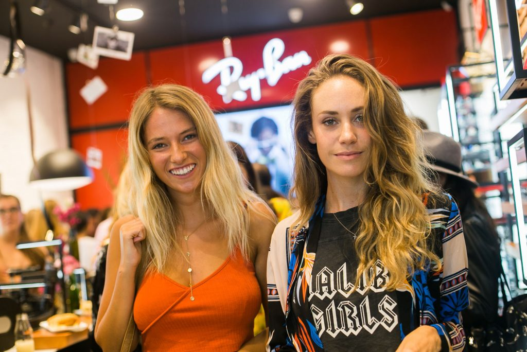 Emili Zembo y Antonia Bulnes