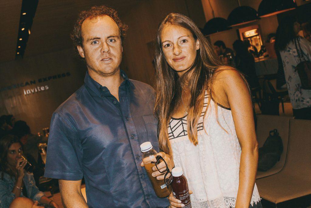 Max Ovalle y Bárbara Luders