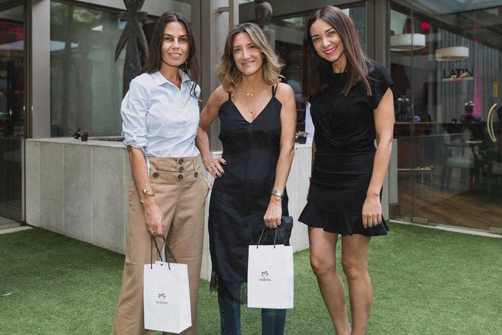 Bernardita Braun, Tatiana Fernández y Pía Schleede