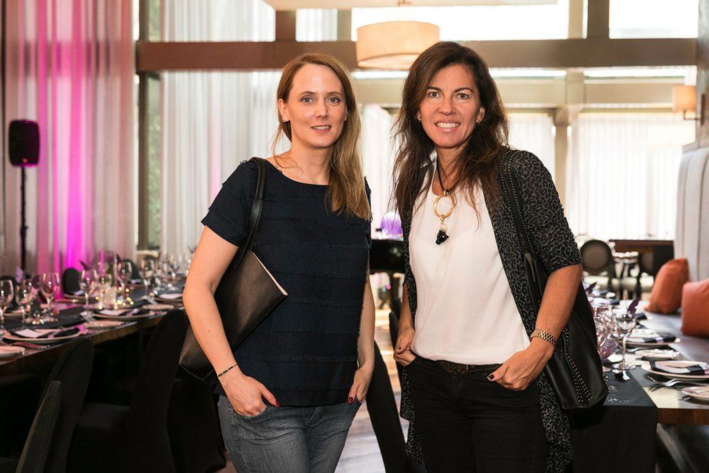 Alison Delplace y Marcia Escalona