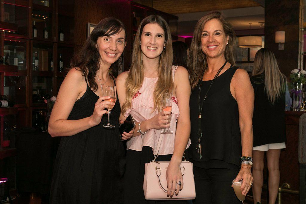 Bernadita Cardone , Paulina Mardones y María Luisa Rudolphy