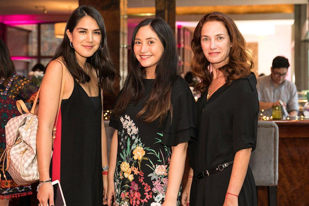 Fernanda Aguirre , Natalia Bindis y Vanina Rosenthal