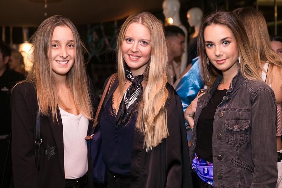 Antonia Correa, Megan Cooper y Clara Martínez