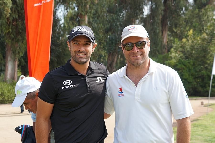 Benjamín Alvarado y Nicolás Birrell