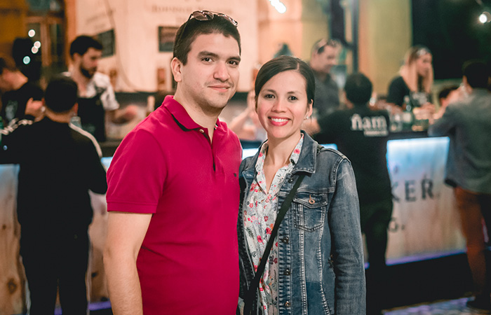 Carlos Becerra y María Guerrero