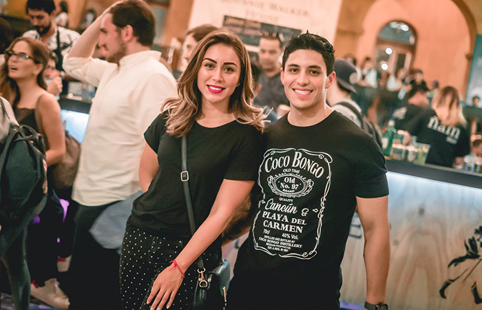 Charlotte Von Bibow y Felipe Almonacid Andreartha