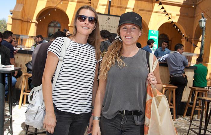Fernanda Junco y Amalia Cubillos