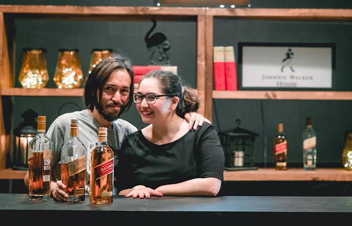 Jean Pierre Fica y Rocío Novoa