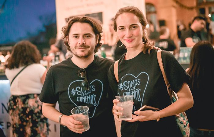Martina Schiess y Alejandro Cuellar