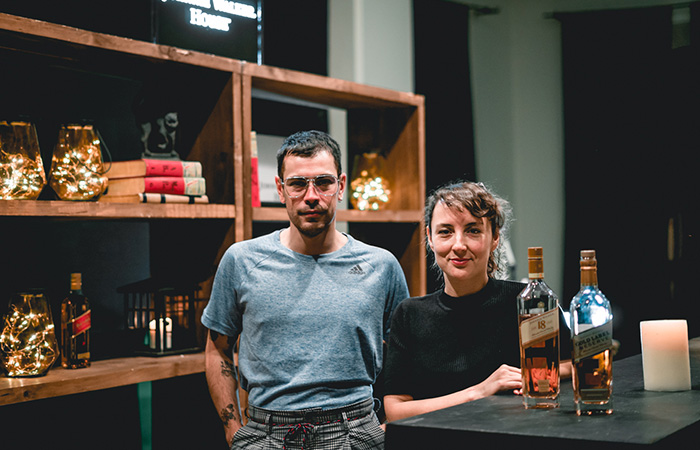 Matías Prado y Lourdes Salgado