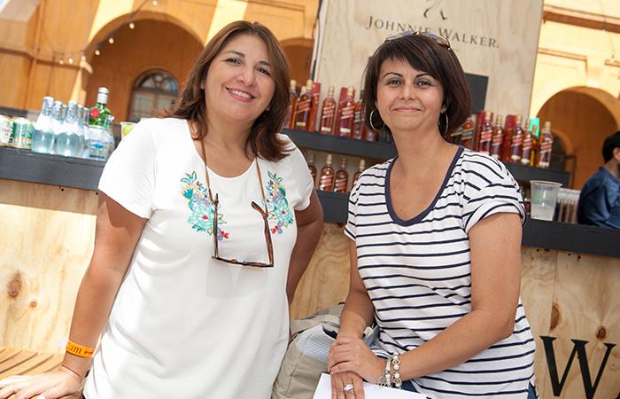 Paula Galindo y Bárbara Alarcón