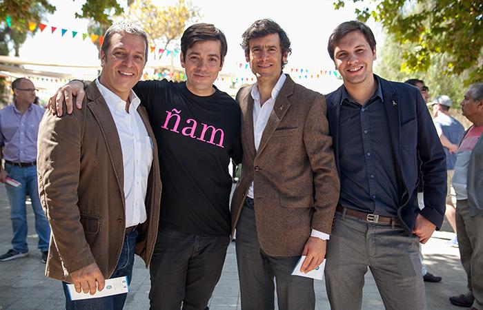 Ricardo Grellet, Rafael Rincón, Ignacio Gómez y José Ignacio Clavel