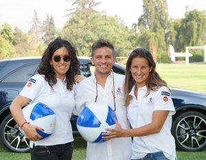 Yael Rosenberg, Ignacio Sepúlveda y Josefina Wild