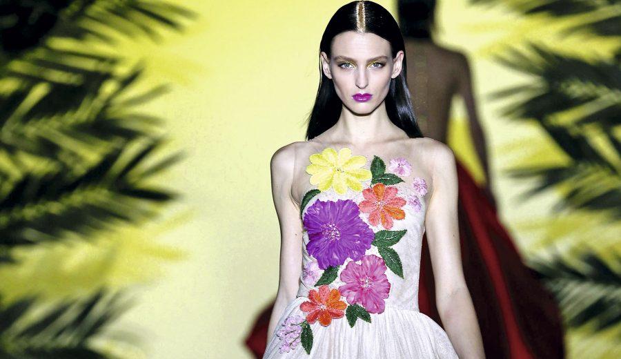 ff3892e90 ... haute couture con un impactante vestido de novia. Si andas en búsqueda  de inspiración