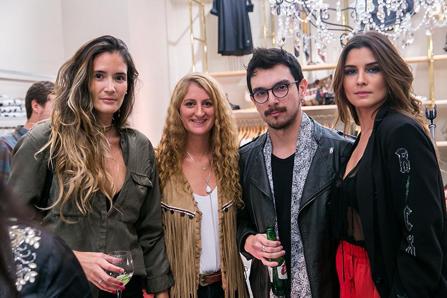 Kimera Barbieri, Consuelo Cañas, Nicolás Quiroga y Gabriela Pulgar