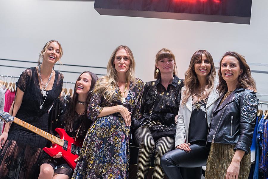 Vale Caballero, Antonella Cartoni, Virginia Demaría, Ana Rondán, María Paz Blanco y Tota Echenique