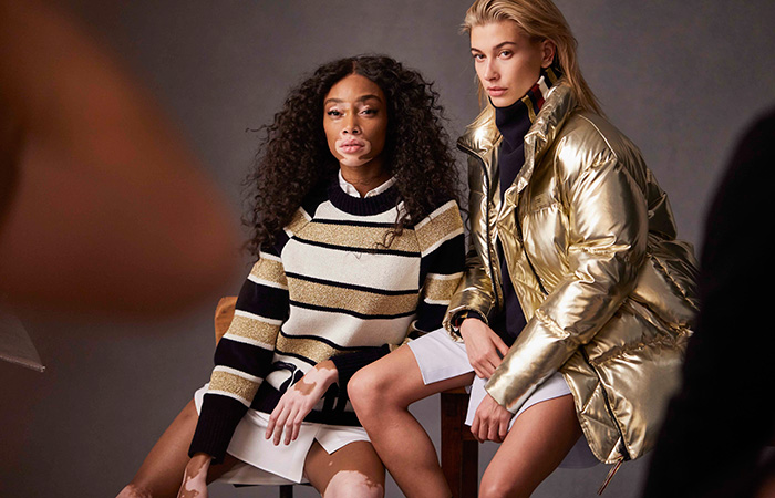 Winnie-Harlow-&-Hayley-Baldwin-Tommy-Icons-BTS-Fall-18-Low-Res