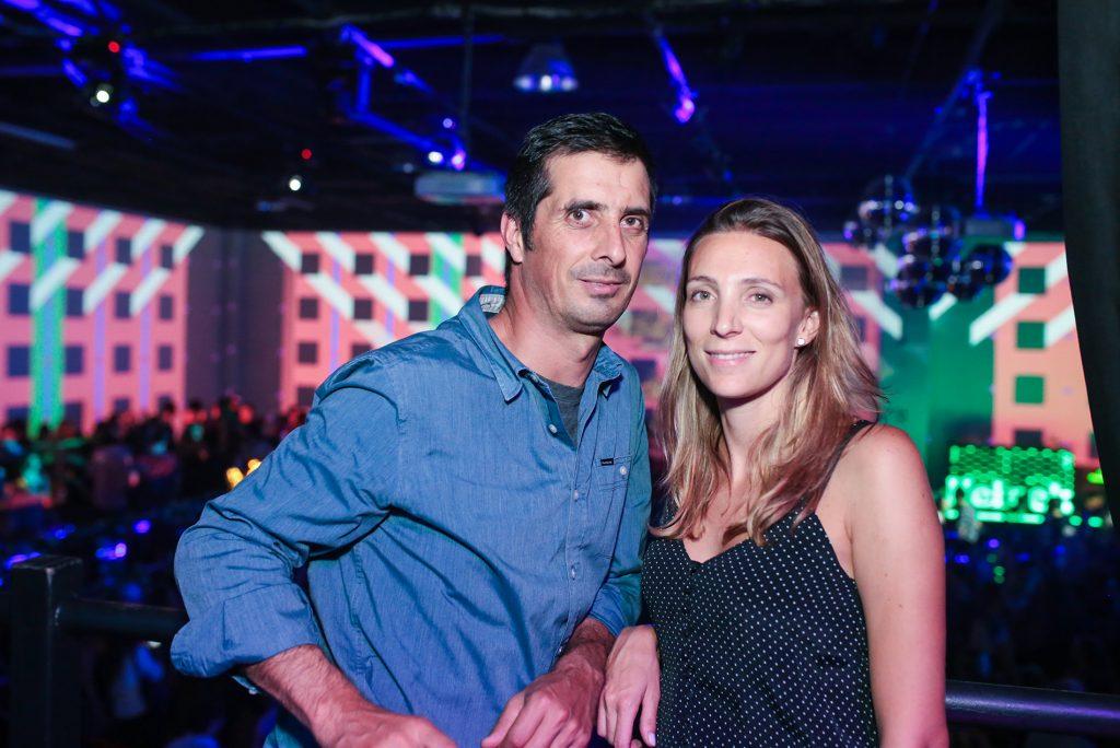 Eduardo Zapatillas y Daniela Rosenberg