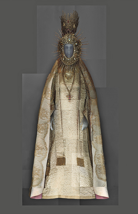 Conjunto de noche John Galliano para Dior Alta Costura O/I 2000-2001.