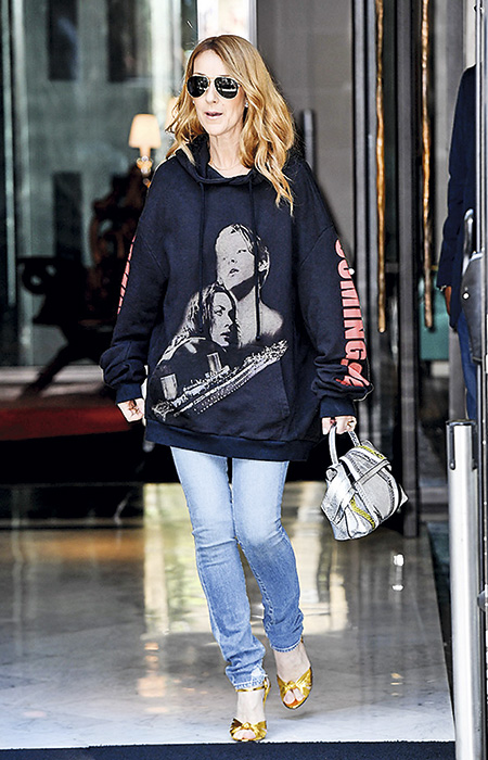 Céline Dion en Vetements.